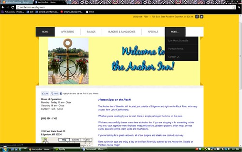 Anchor Inn Website