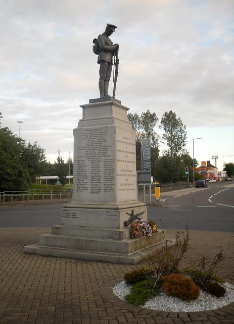 War Memorial, Newmains, Lanarkshire