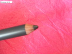 crayon yeux  silver effect gris foncé