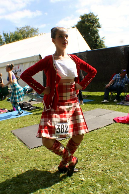 Highland Dancing Exhibition, Glasgow Green