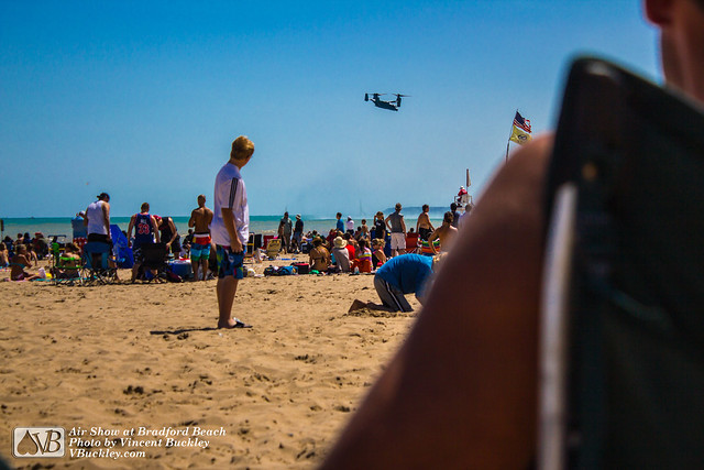 Air Show at Bradford Beach