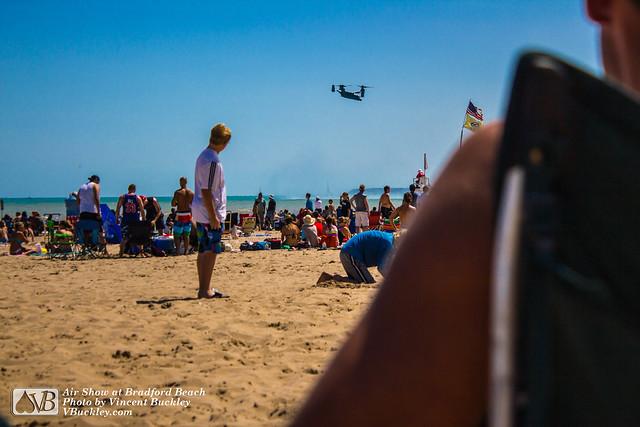 Air Show at Bradford Beach