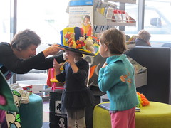 Margaret Mahy storytime at Central Library Peterborough