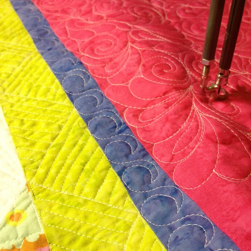 quilting the borders