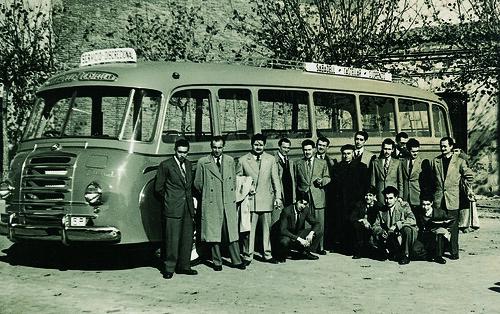 Autocar Pegaso 1952