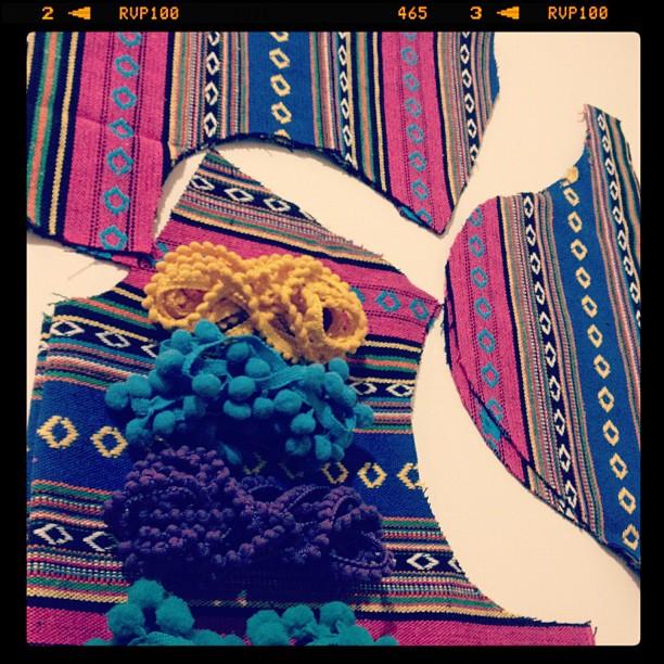 Preparing for my Friday night sewathon #fabric #sewing #diy