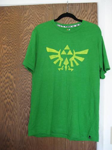 DIY triforce Tshirt