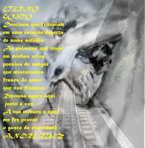 ETERNO GOSTO by amigos do poeta
