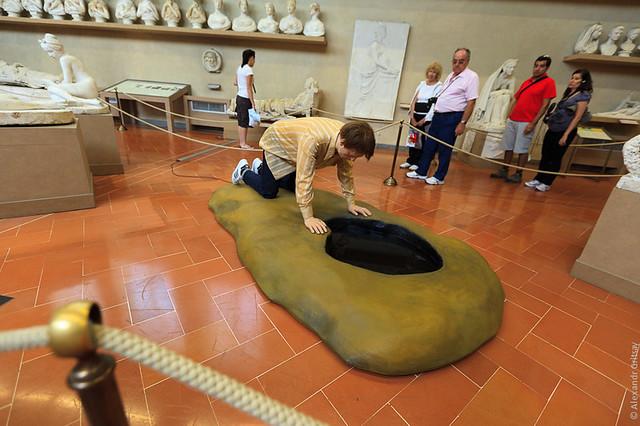 В музеях Флоренции запрещают фотографировать