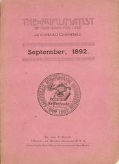 Numismatist September 1892