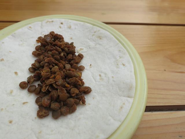 lentil taco filling