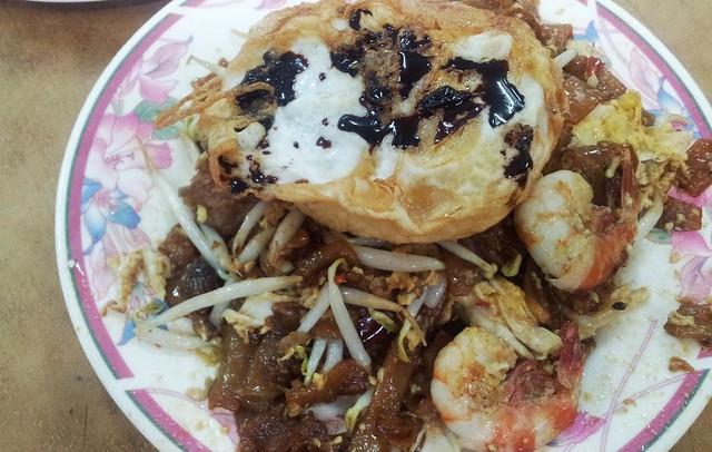 Bukit Mertajam Duck Egg Char Koay Teow