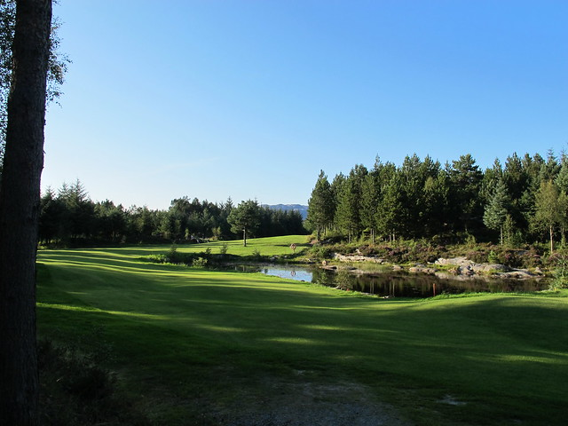 Hole 11 at Meland golfklubb
