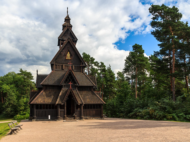 Happy Sunday! The 13th Century Gol Stave Church of The Norwegian Museum of Cultural History
