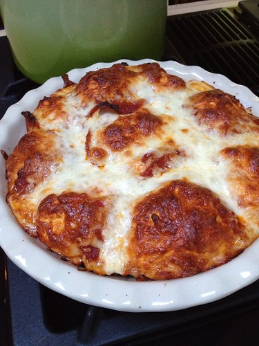 Cheesy gluten free pull apart pizza bread