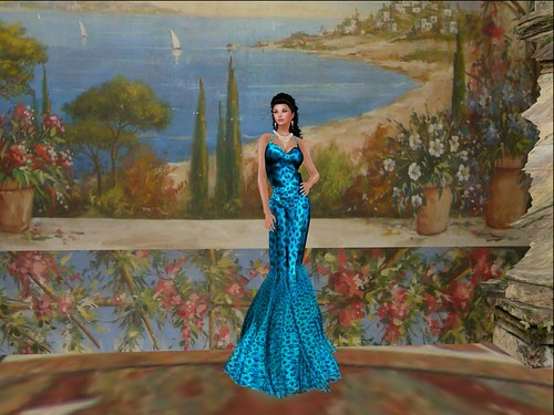 [LIV-GLAM] Summer 2012-Decadence Satin Silk Gown (Mesh), free by Cherokeeh Asteria