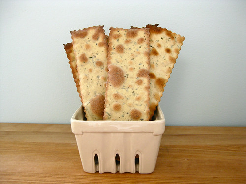 rosemary flatbread crackers