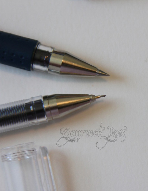 Pilot Hi-Tec-C 0.3mm vs Uni-ball Signo DX 0.38mm