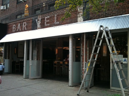 New Bar Veloce signage