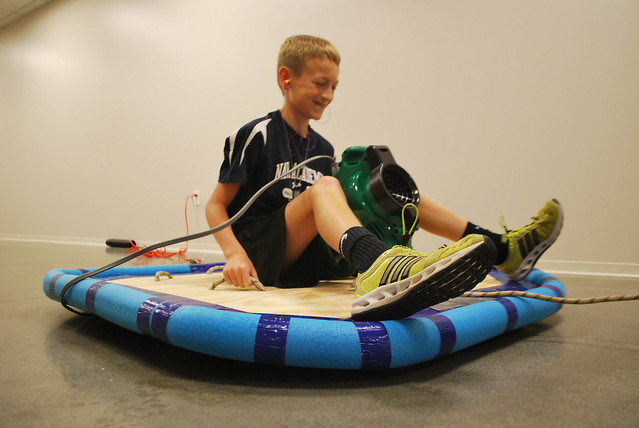 Build your own hovercraft!