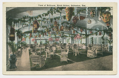 View of Ballroom, Hotel Galvez, Galveston, Tex.