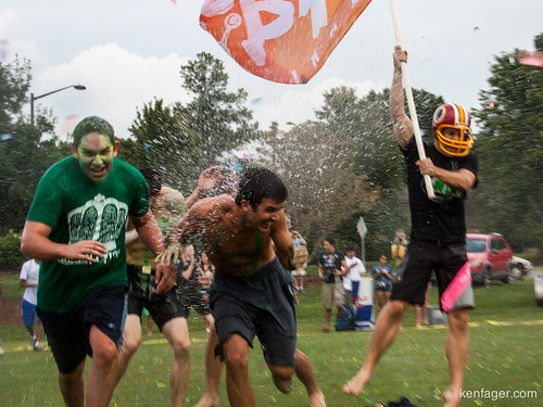 UNCC Water Balloon Fight by kenfagerdotcom