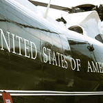 Port side detail - Nixon Helicopter - Richard Nixon Presidential Library and Museum