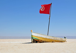 Tunisia-3913 - Where did the water go.....