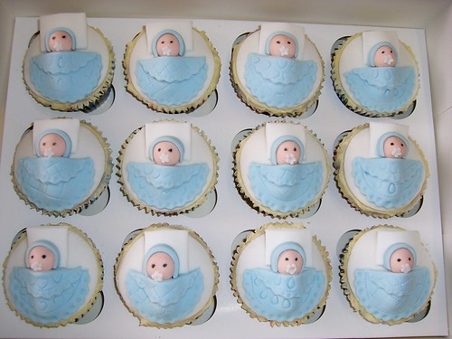 Cupcake Design For Baby Boy : More Baby Shower Cupcakes - All Things Cupcake