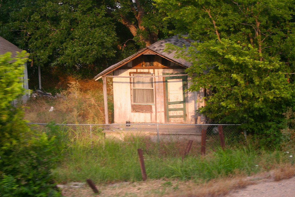 Rickety Shack from the Track