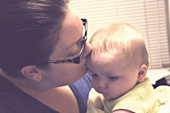 Sweet Mommy kisses [149/366]