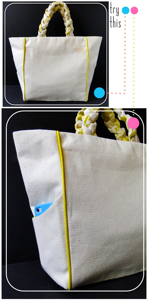 00 Piped + Pocketed Tote