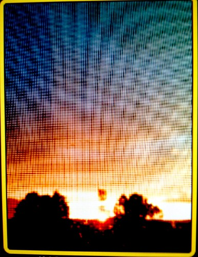 arizona sunrise rainbow touch her special flagstaff rainstorm moire adds rainbowmoire herspecialtouch