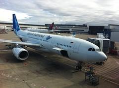 Garuda A330-200 in Sydney
