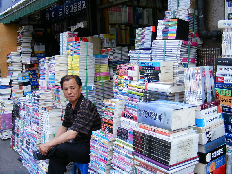 Shopkeeper and his Books