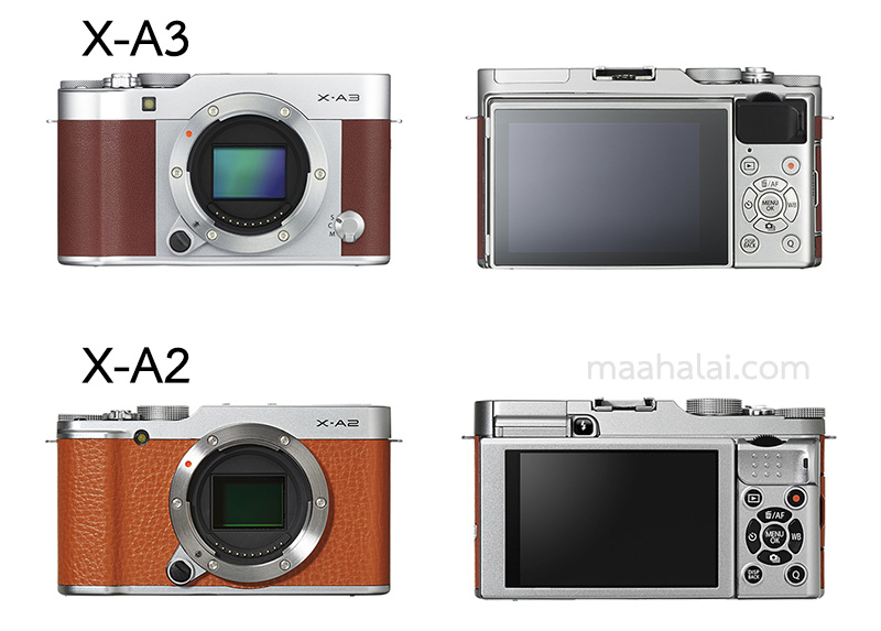 15 Fujifilm X A2 X A3
