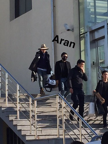Big Bang - Harbin Airport - 21mar2015 - Seung Ri - Aran - 01