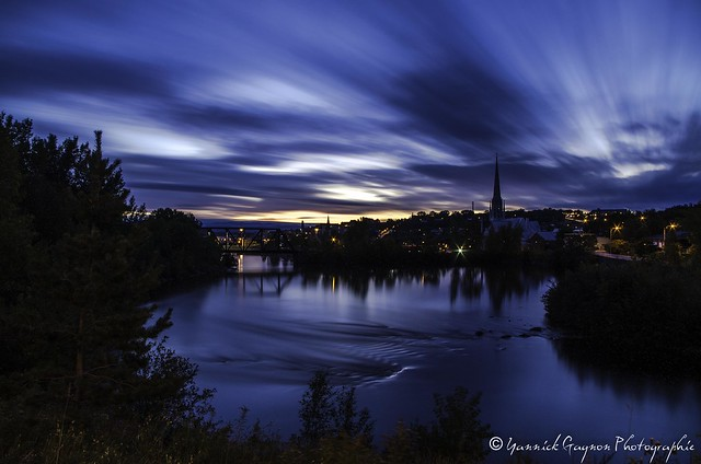 Saguenay lever du soleil
