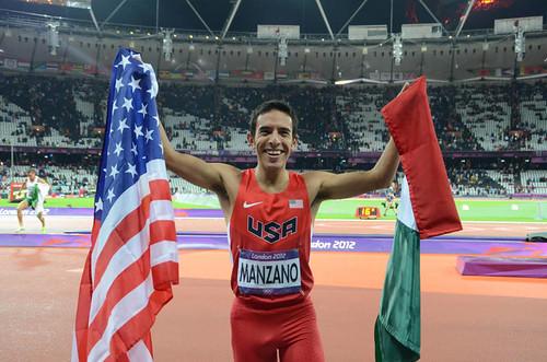 Leonel Manzano Londres 2012 Atletismo