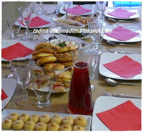 iftar daveti menüsü