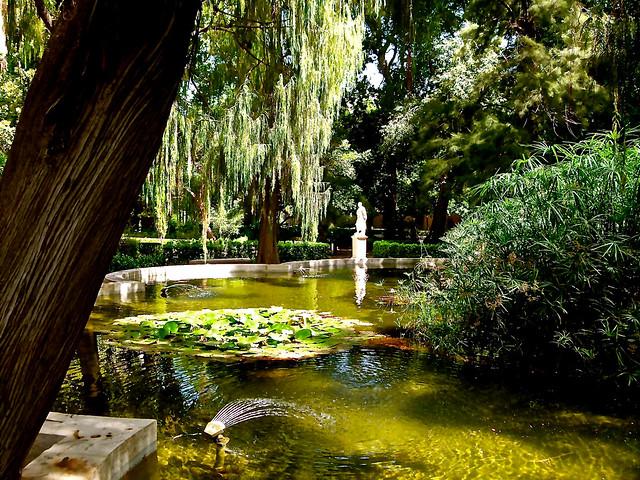 Jard n de monforte estanque de nen fares flickr - Estanque de jardin ...