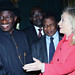 President Goodluck welcomes Secretary Hillary Clinton