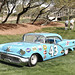 Richard Petty's 1957 Oldsmobile at Amelia Island 2010