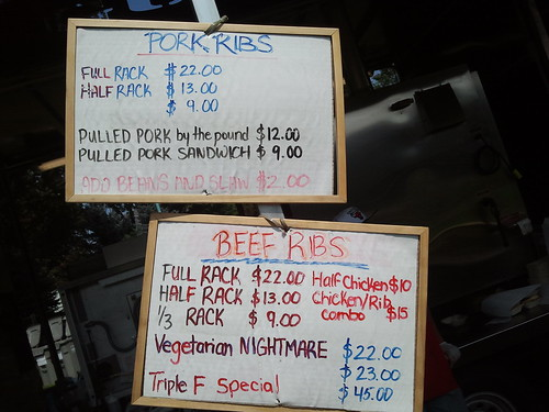 Ribfest Smokin Guns BBQ Menu