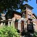 An eccentric house