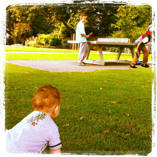 Ping Pong in the Park