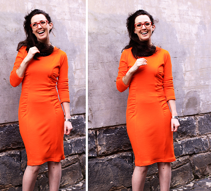 Orange Dress Finished #6