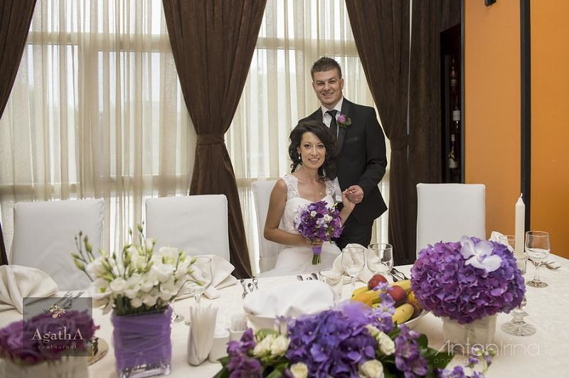 purple & lavender wedding - nunta mov - lila
