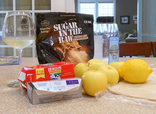 Ingredients for Puff Pastry Fruit Strips