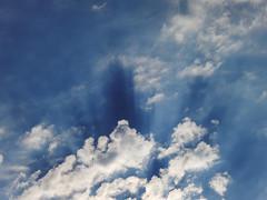 [フリー画像素材] 自然風景, 空, 雲, 青空, 薄明光線 ID:201208180600